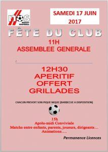 AG Fete du Club