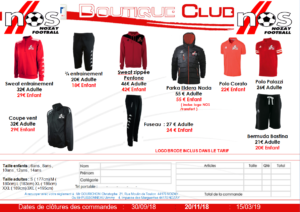 Boutique NOS Football 2018-2019