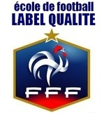 logo label ecole de foot