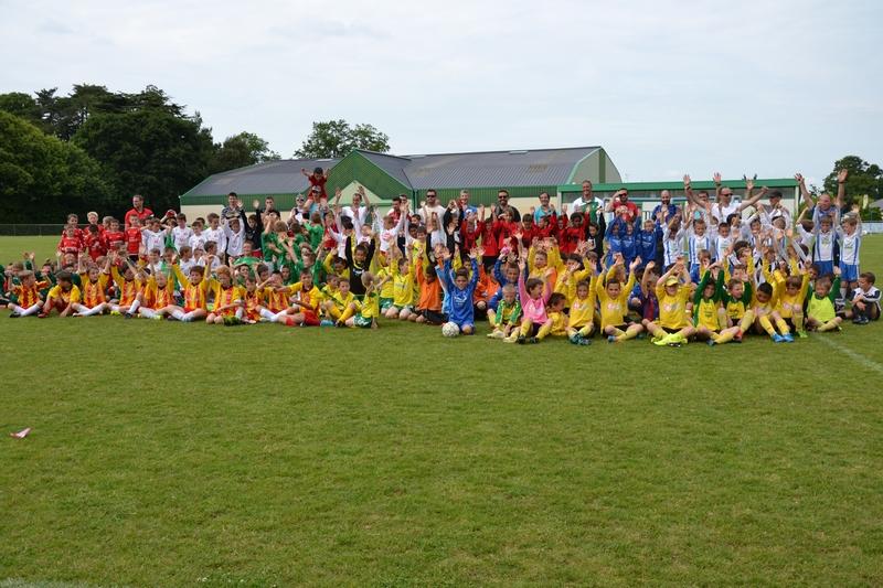 40 équipes U9 à Nozay pour la journée départementale