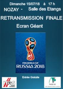 Affiche Finale Russia 2018 - Nozay