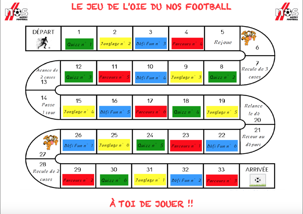 Jeu De Societe Made In Nos Football Www Nozay Football Fr
