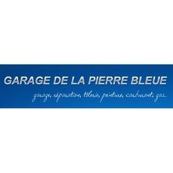logo garage pierre bleue